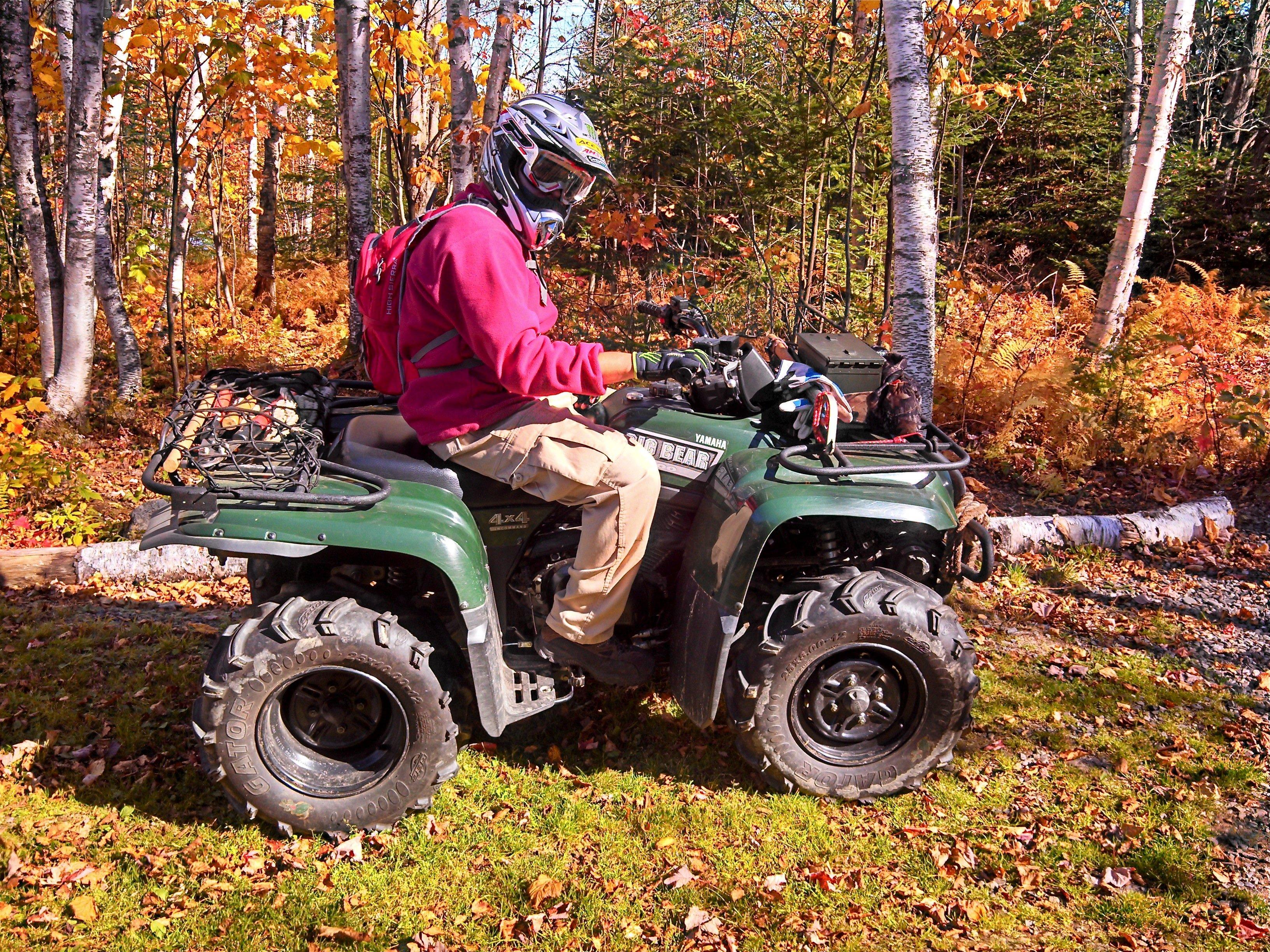 Enjoy Maine's Scenic ATV Tails!