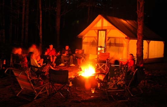 Kennebec River Campground - Northern Outdoors