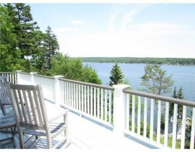 First Light Cottage - Incredible view of Maine coastline. Watch working lobster boats, sailboats, harbor seals, bald eagles, ducks and loons, osprey.