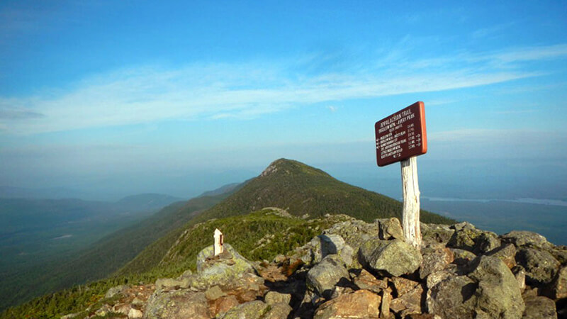 The Bigelow Range is known as one of the prettiest sections of the Appalachian Trail.