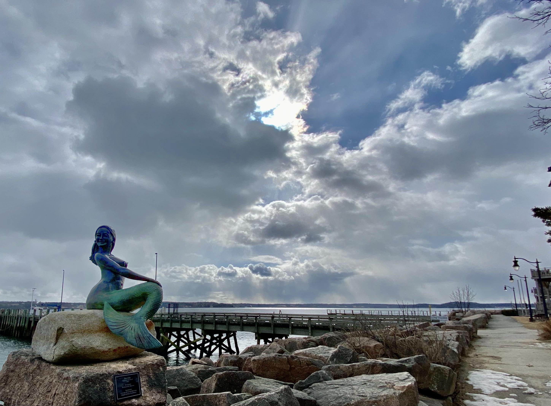 Richard Klyver's The Mermaid, in Eastport