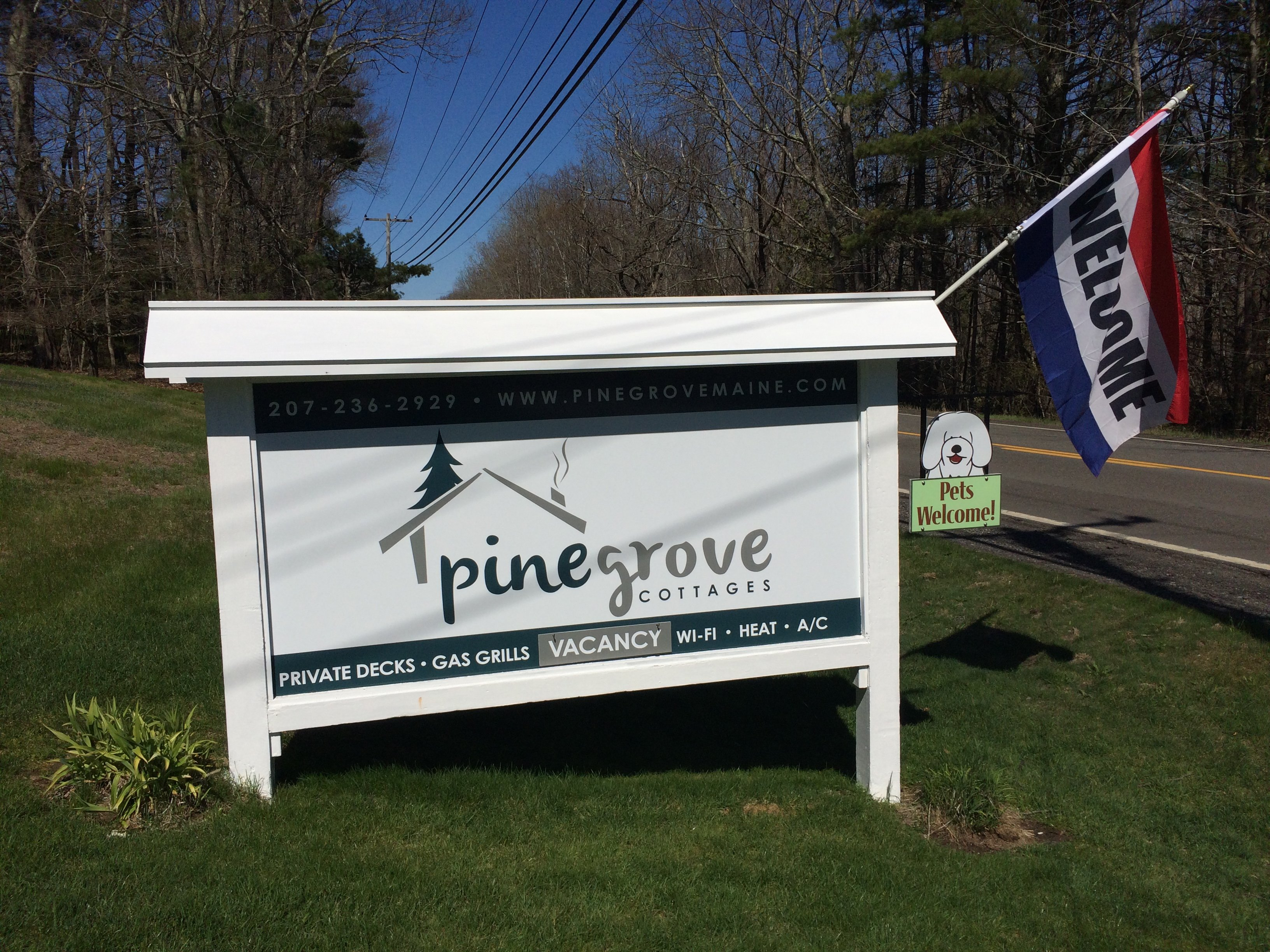 Pine Grove Cottages awaits you!