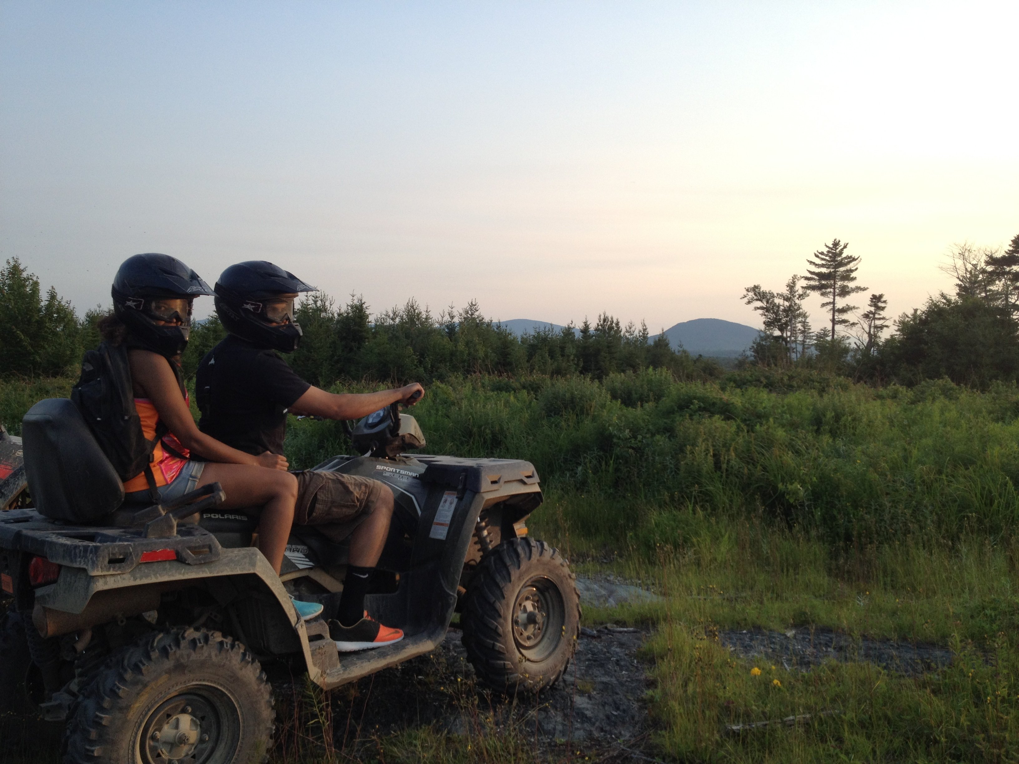 Sunset tours offer the thrill of riding in the later evening hours on an all-inclusive two hour trip.