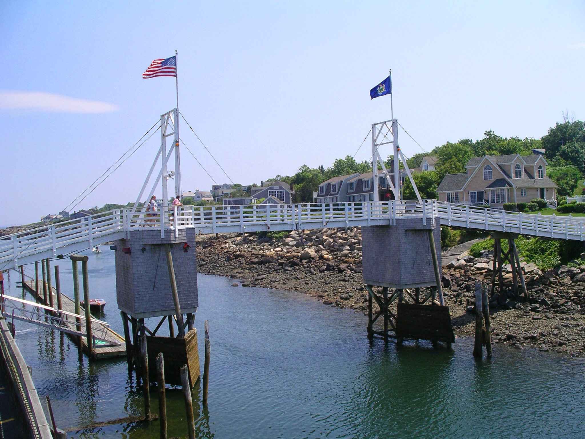Perkins Cove Famous Footbridge
