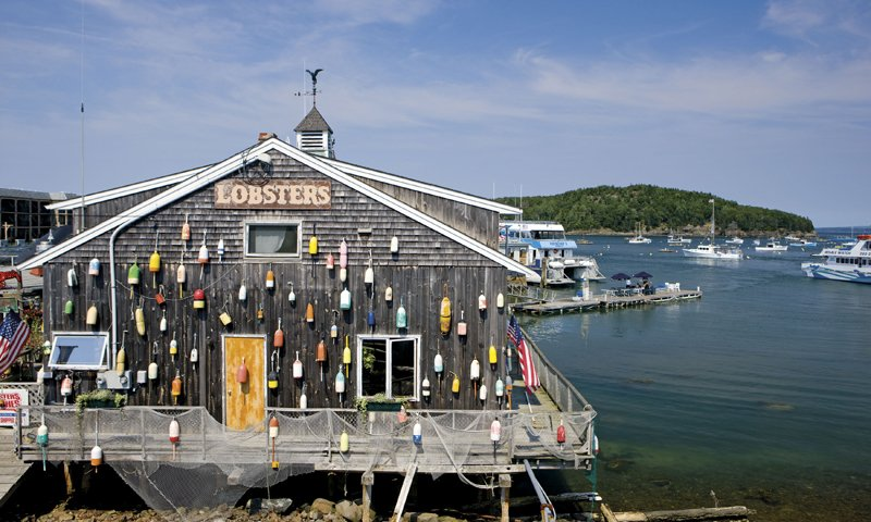 Lobster Shack in Bar Harbor