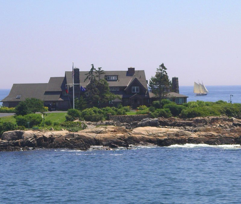 Walkers Point - Home to President George Bush - Kennebunkport