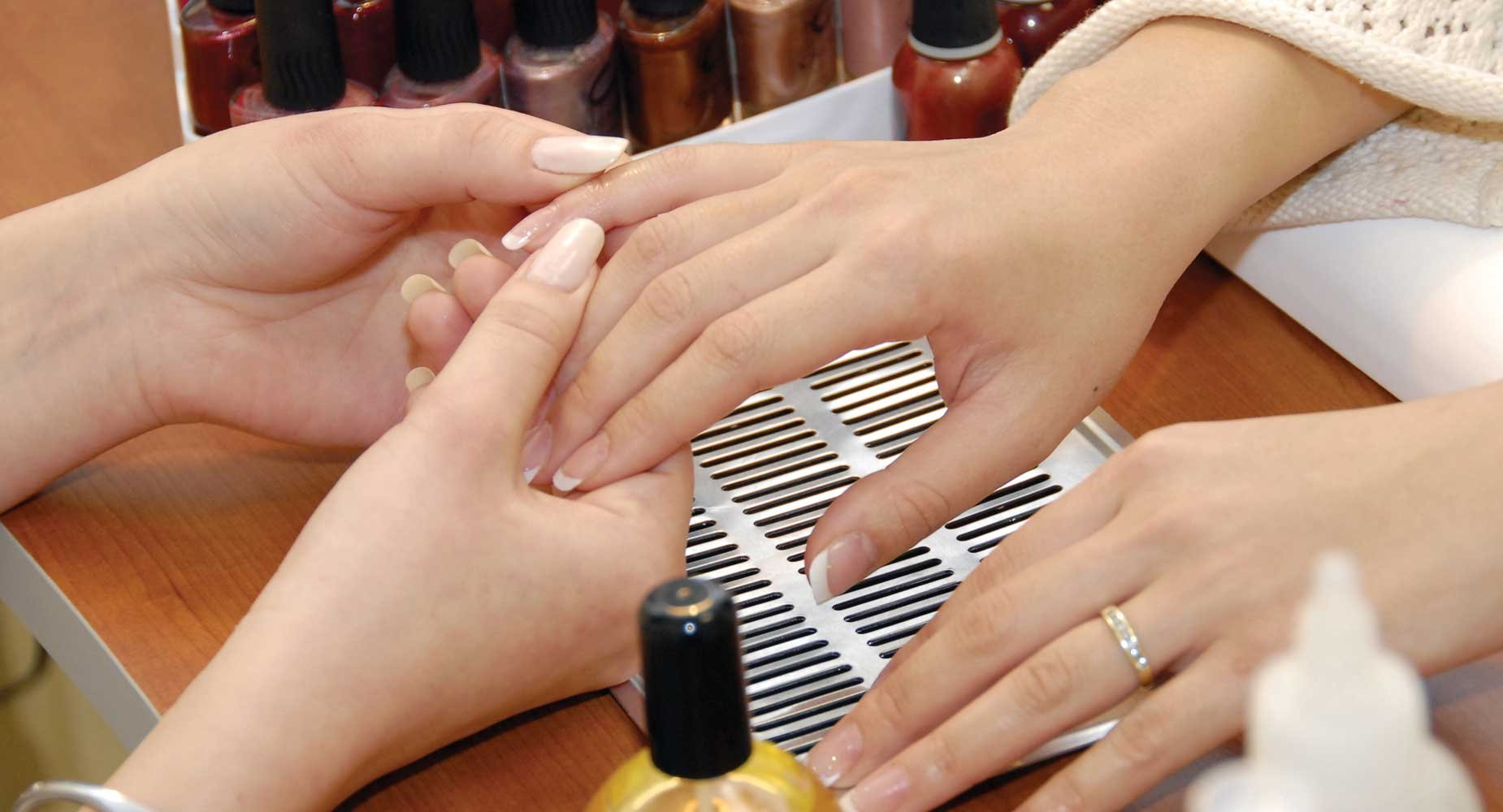 Our nail salon is set up for individualized attention. In addition to standard nail offerings, we also offer ShellacTM.