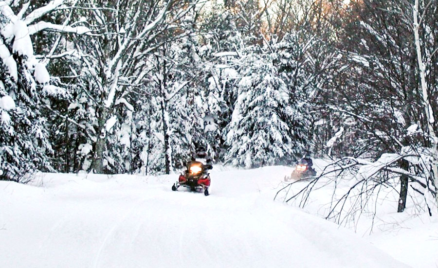 A Family Snowmobile Adventure