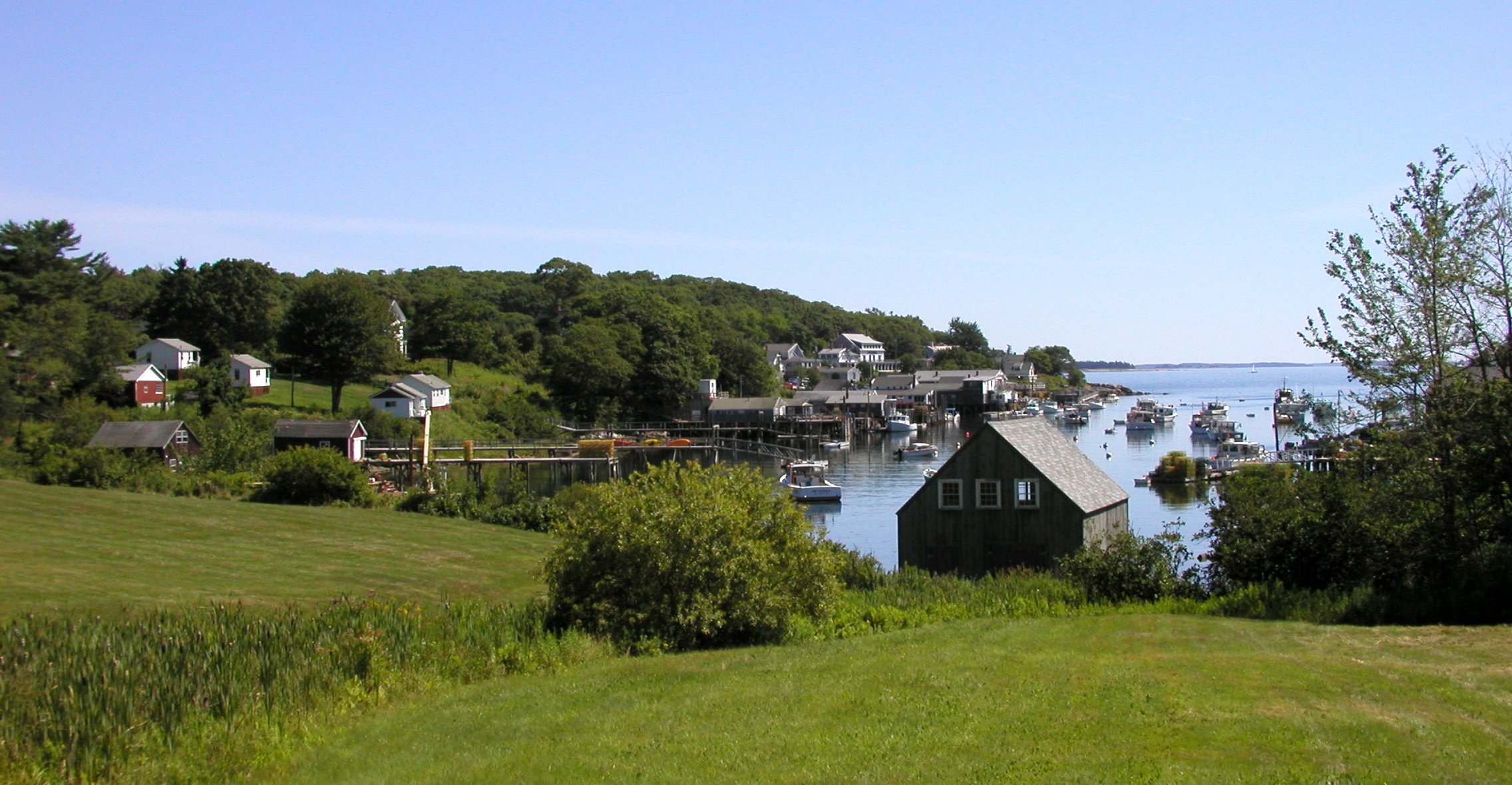New Harbor--a classic Maine working harbor