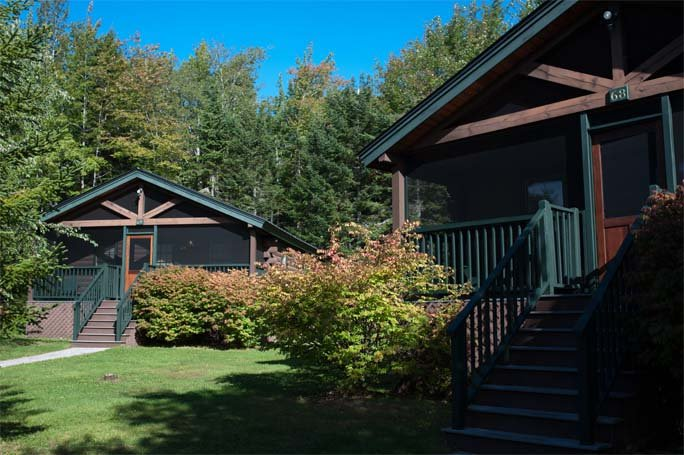Well Appointed White Pine Cabins