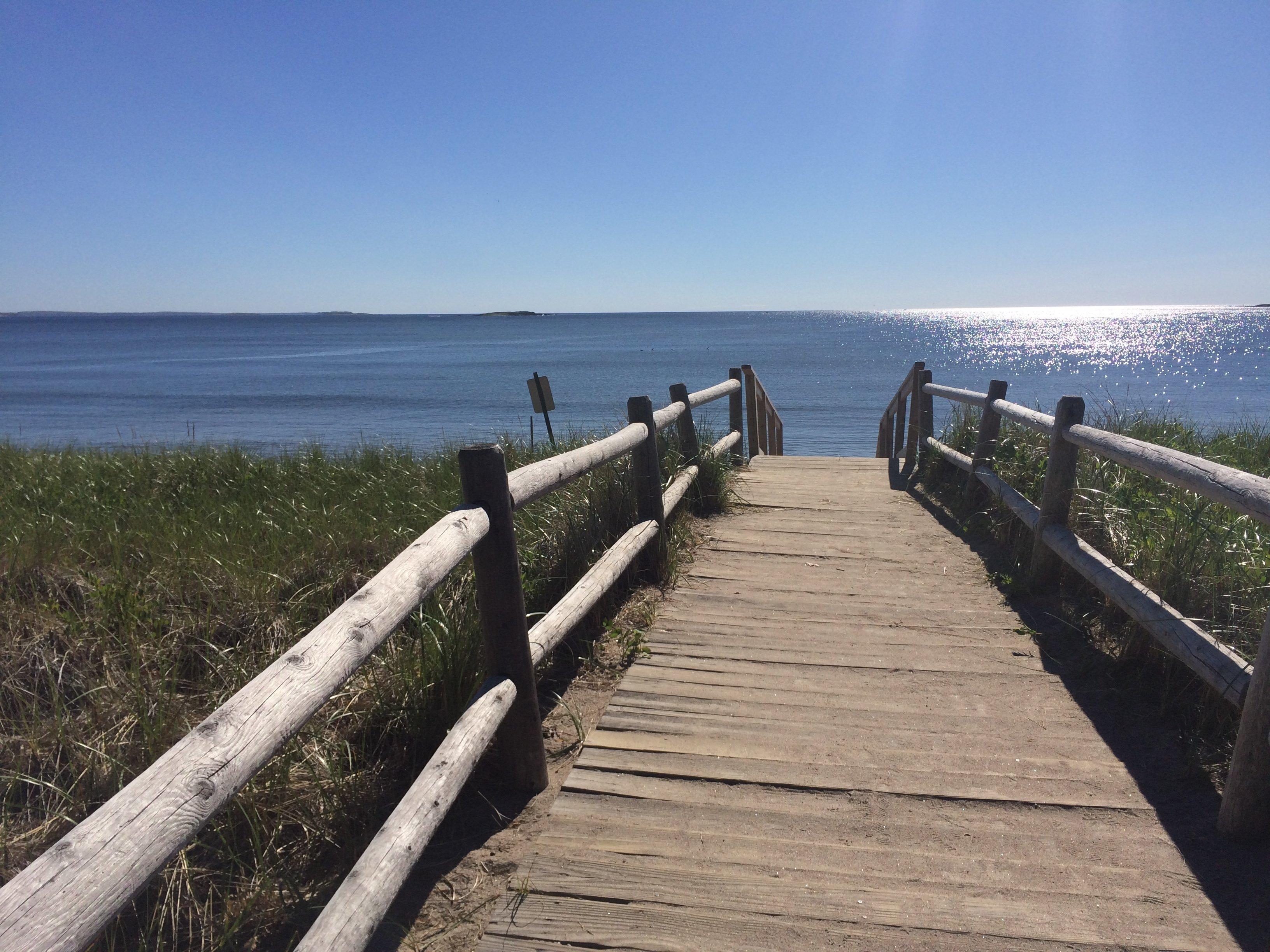 Ferry Beach Boardwalk