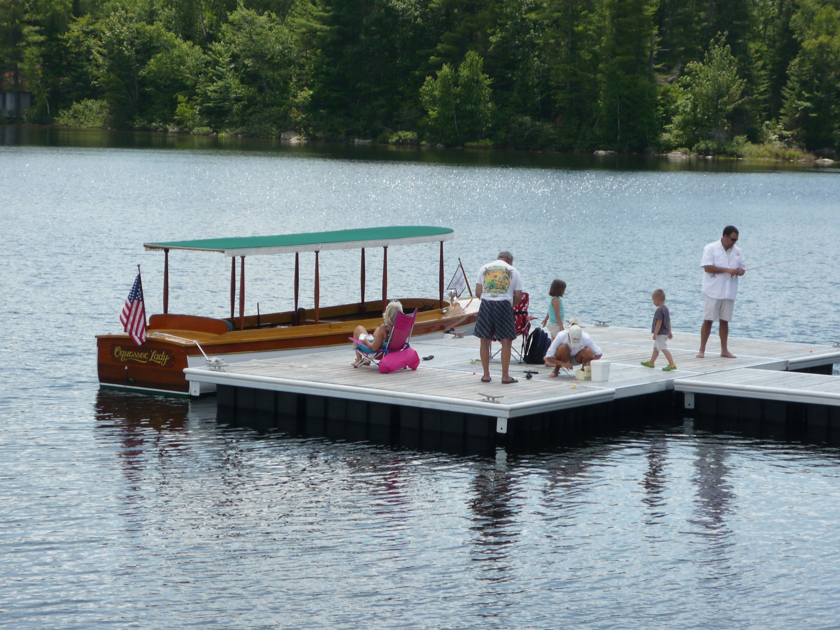 Private Charter on the Oquossoc Lady at Upper Dam (Mooselookmeguntic Lake)
