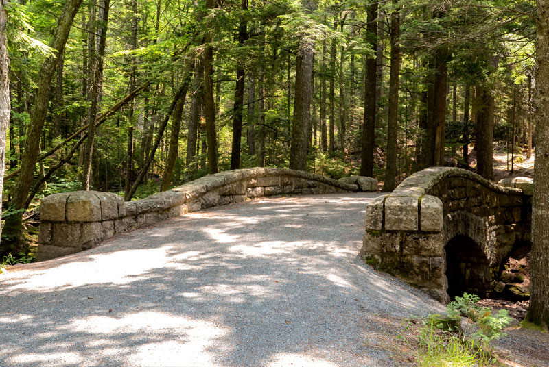 Bike the Carriage Roads of Acadia National Park