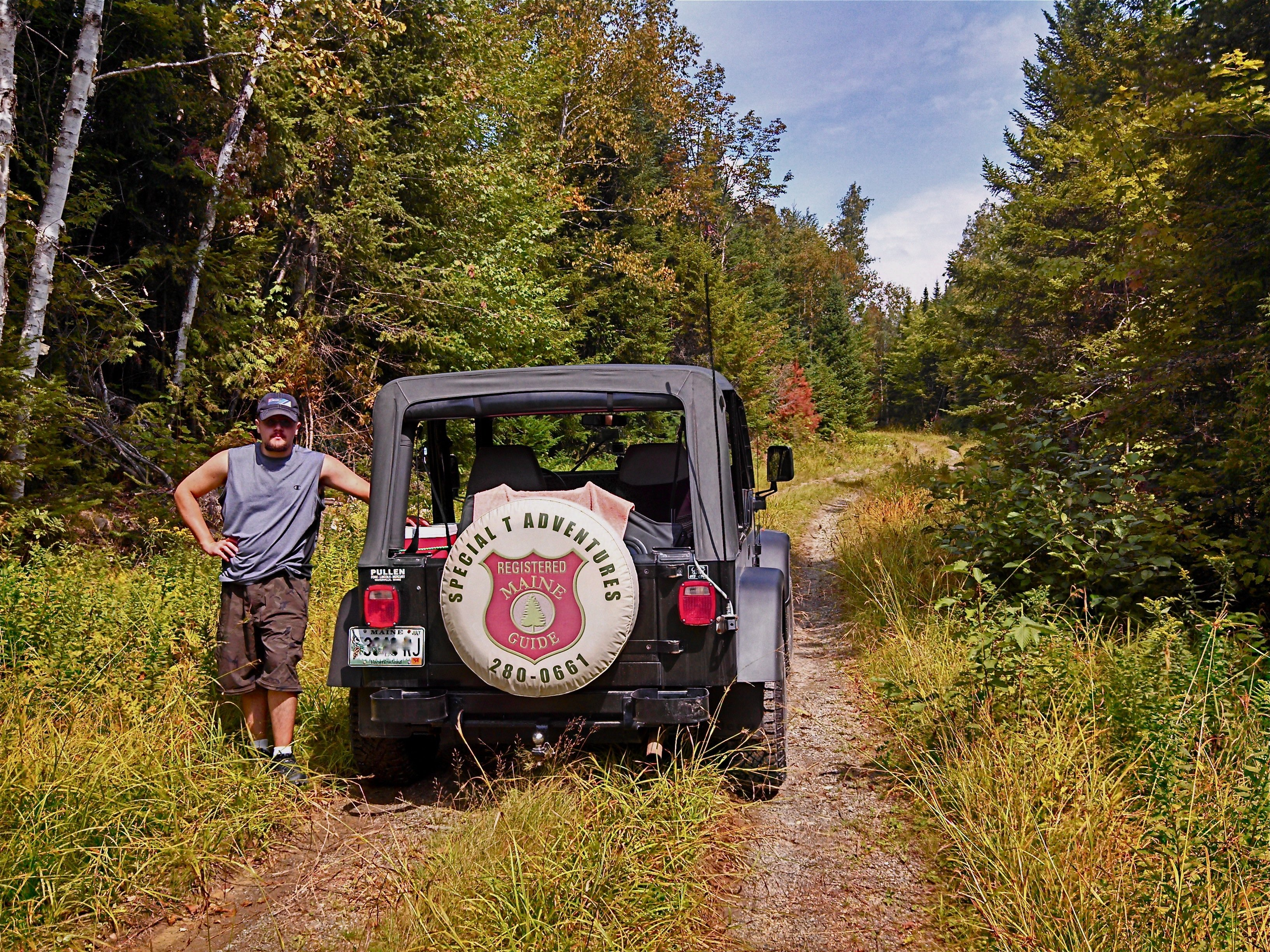 Scenic Jeep Safaris through the woods of maine!