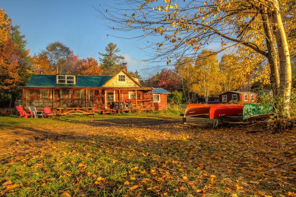 Campyard in fall