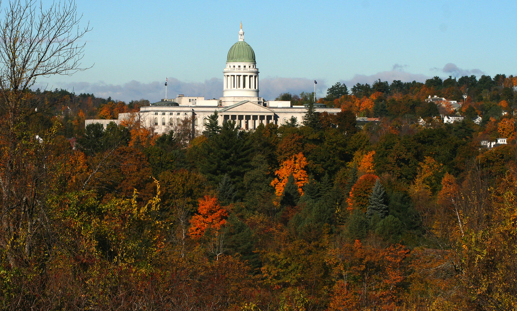 The Maine State House