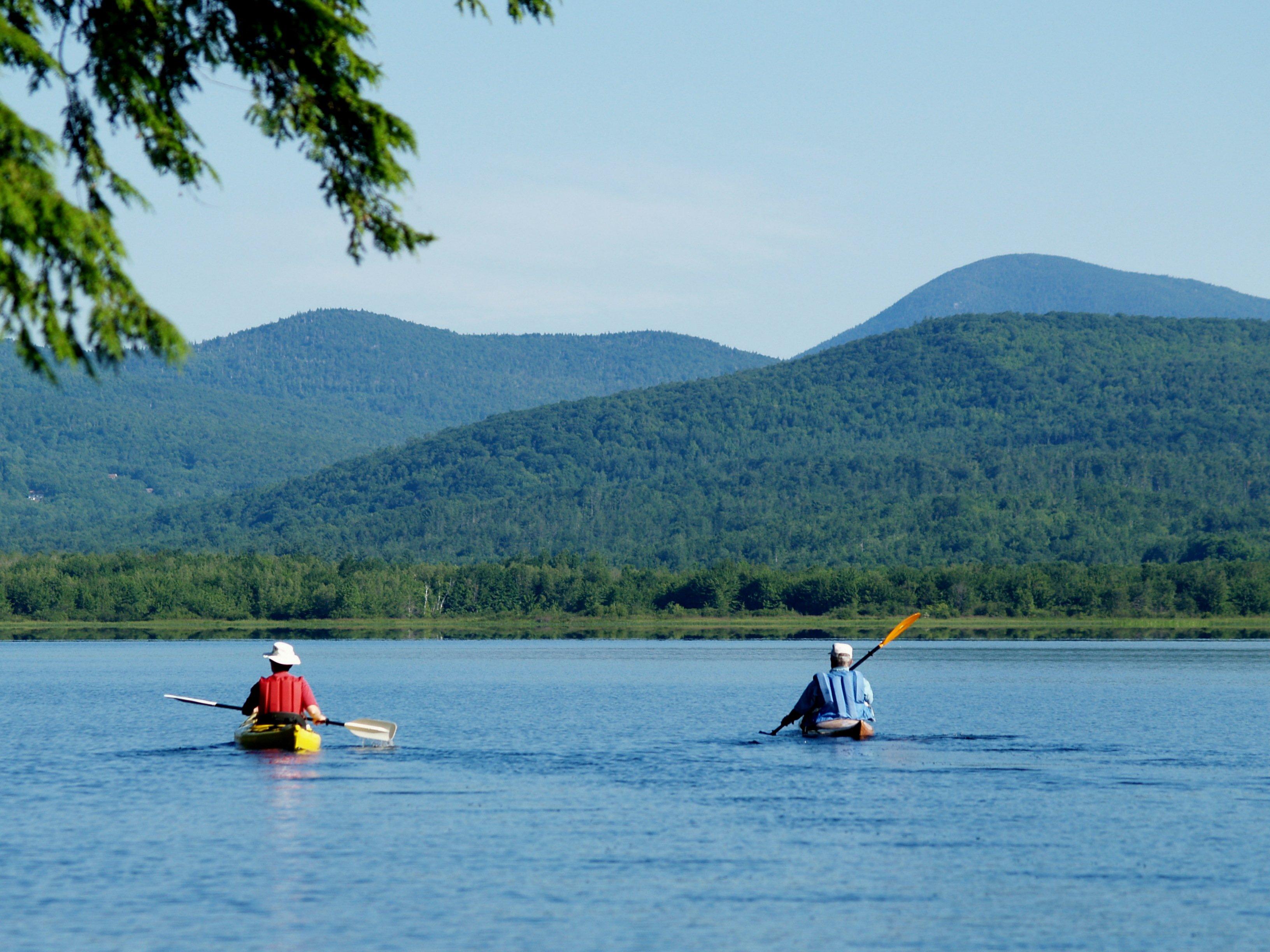 Kayak, canoe, swim and explore Wilson Lake.
