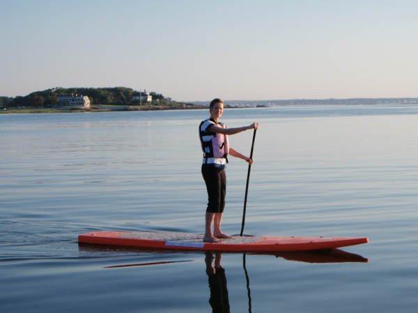 Sunrise Paddle in Cape Porpoise Harbor
