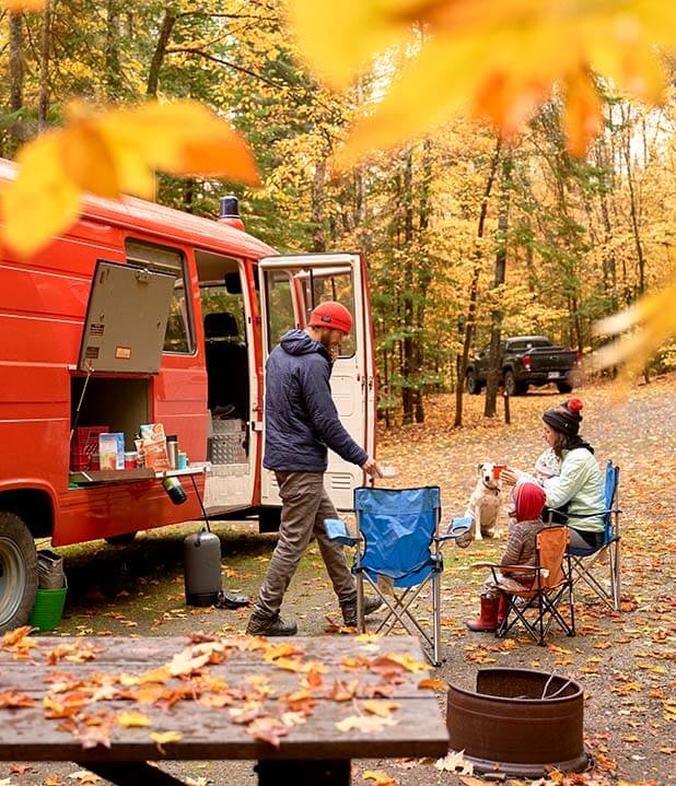 Maine camping