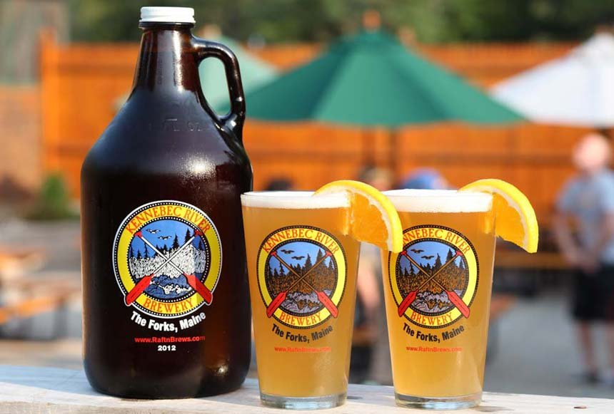 Take home a growler of your favorite Kennebec River Brewery ale or lager after your trip to Northern Outdoors!