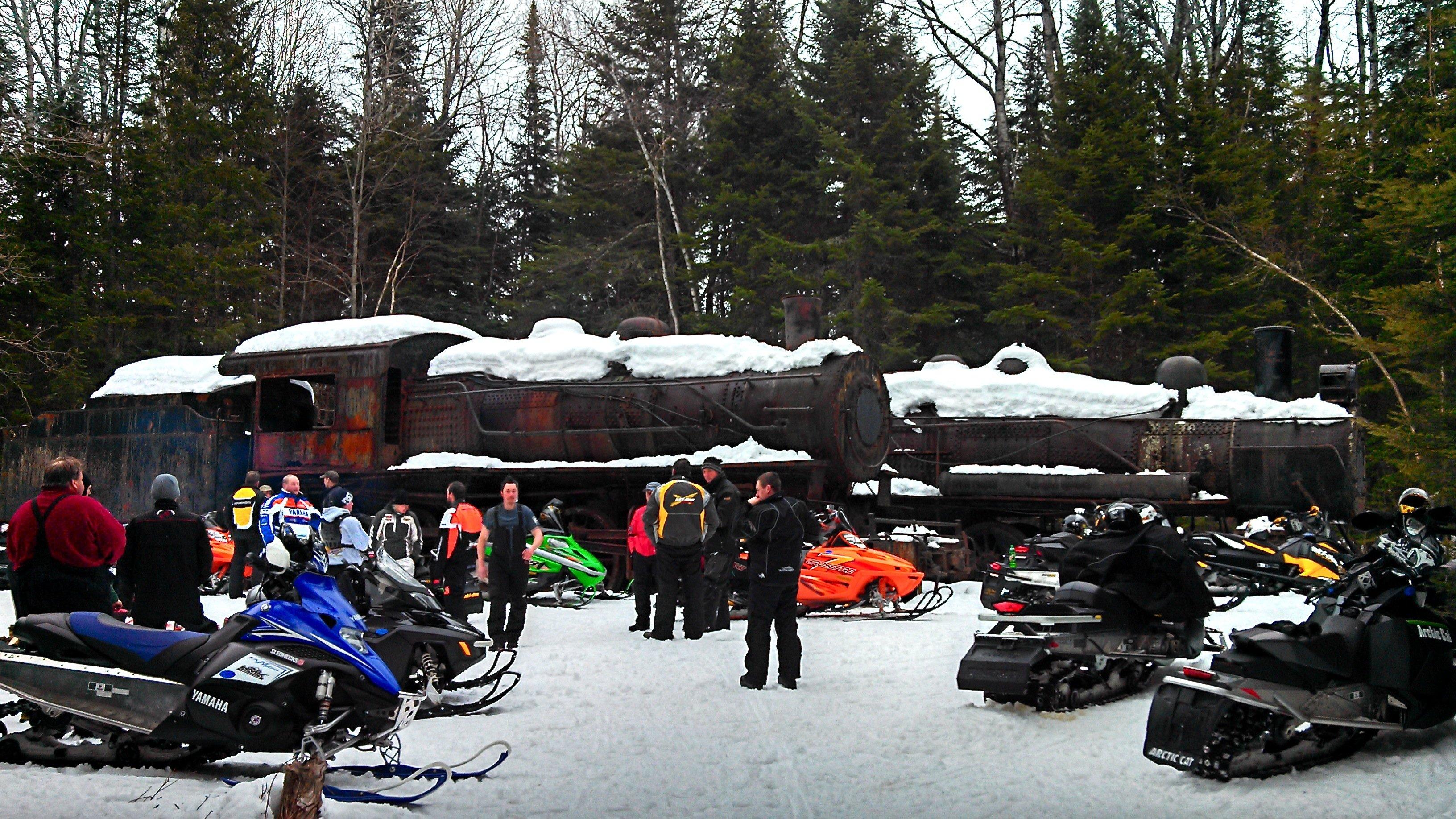 The Famous Eagle Lake Steam Locomotives!