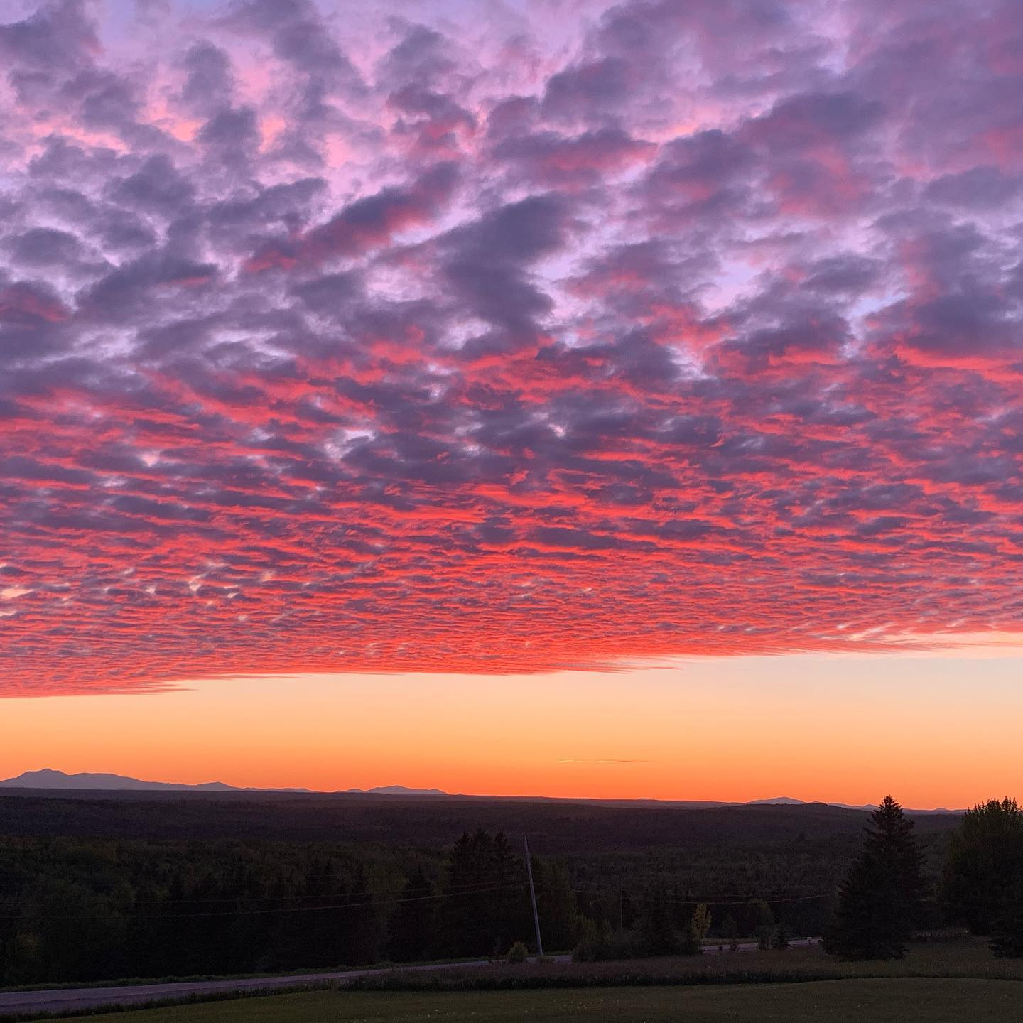 The biggest view in all of Maine is  Million Dollar Scenic Byway! Photo Courtesy of Denise Smith.