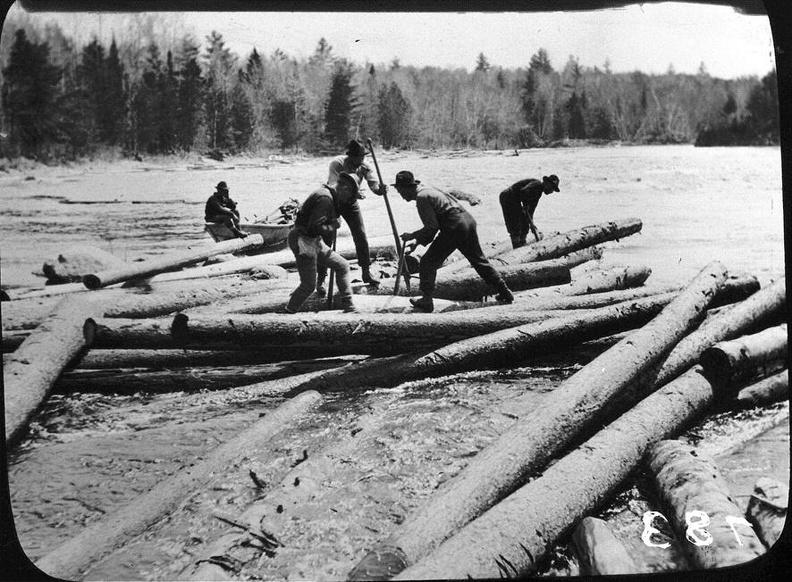 Lumbering in Maine