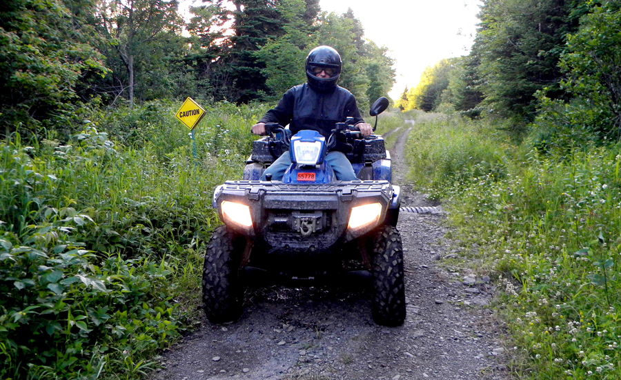ATV Riding in the Kennebec Valley