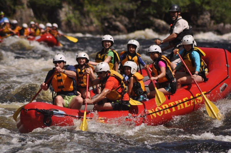 Kennebec River Whitewater Rafting Maine