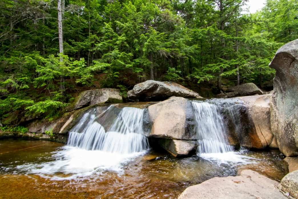 Visit the lively streams and waterfalls of Bethel's Grafton Notch State Park.