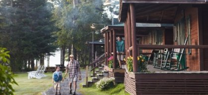 Cottage Resorts | Maine's Lakes and Mountains Regions