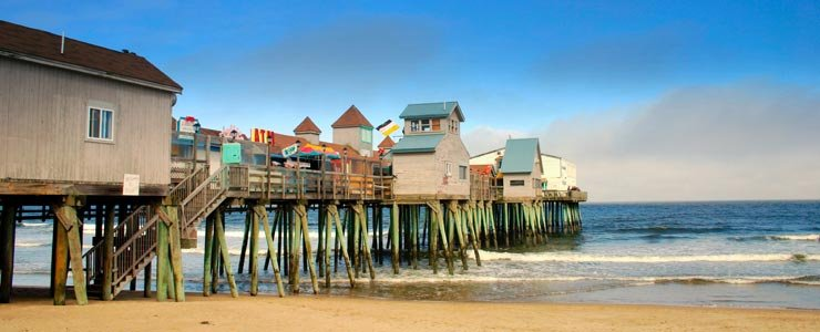 Old Orchard Beach, Maine.