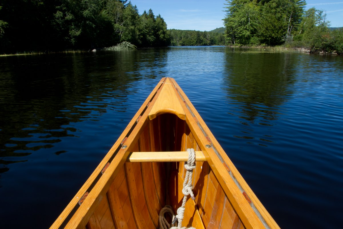 Canoeing on Umbagog Lake