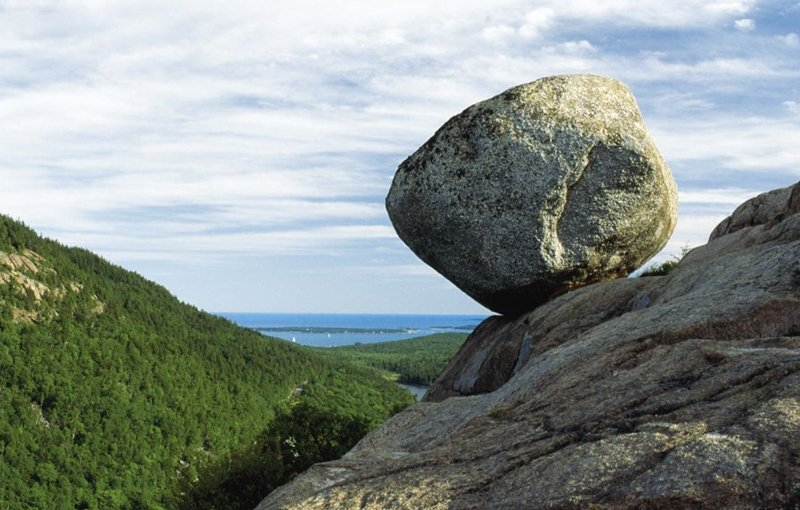 Balance Rock, Acadia National Park