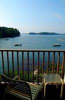 Private ocean view balconies