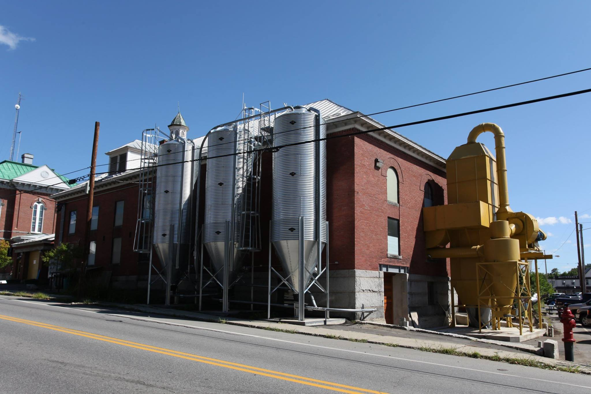 The historic Skowhegan County Jail was repurposed as a gristmill and is now the home to Maine Grains