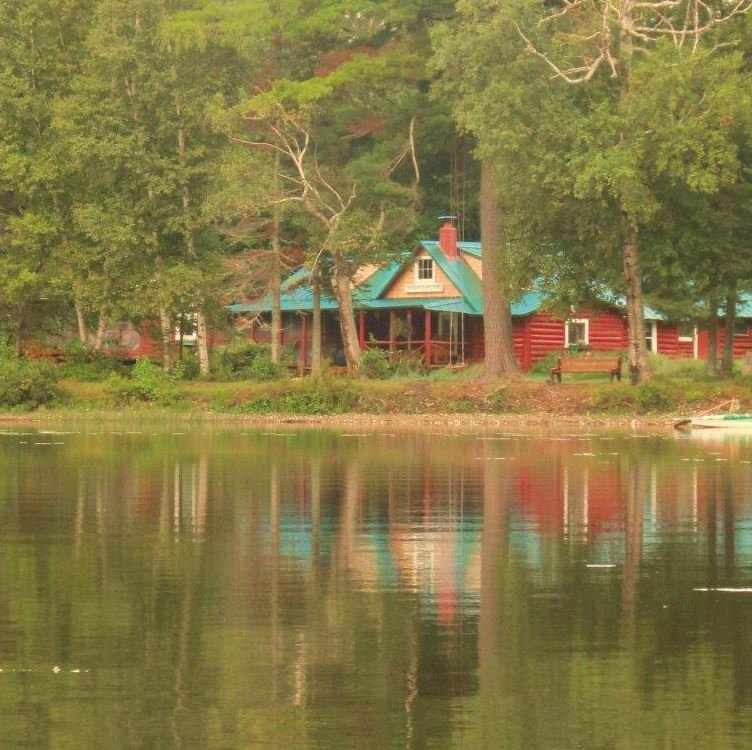The Sabotowan-Maine Lodge is a private cabin rental and the original cabin built by Mose Duty in 1901