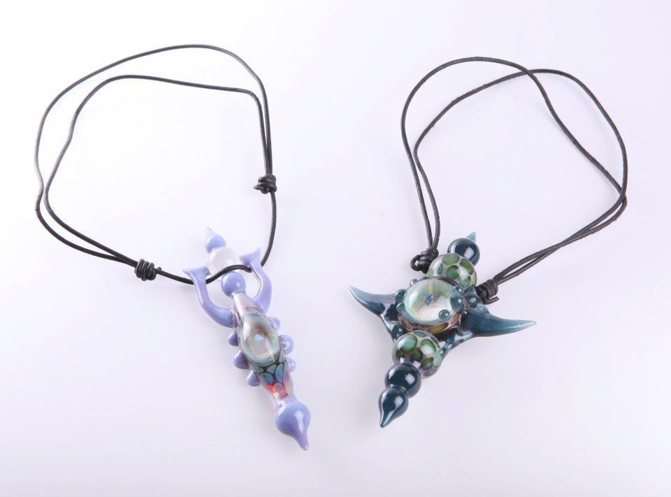 Necklace Pendants by Kristian Merwin