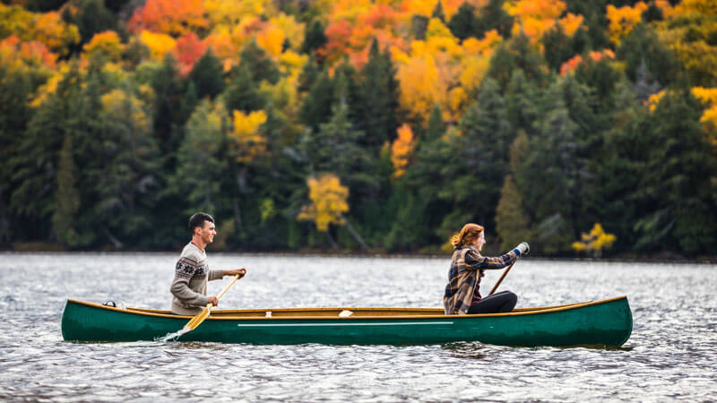 Summer & Fall bring ideal paddling conditions