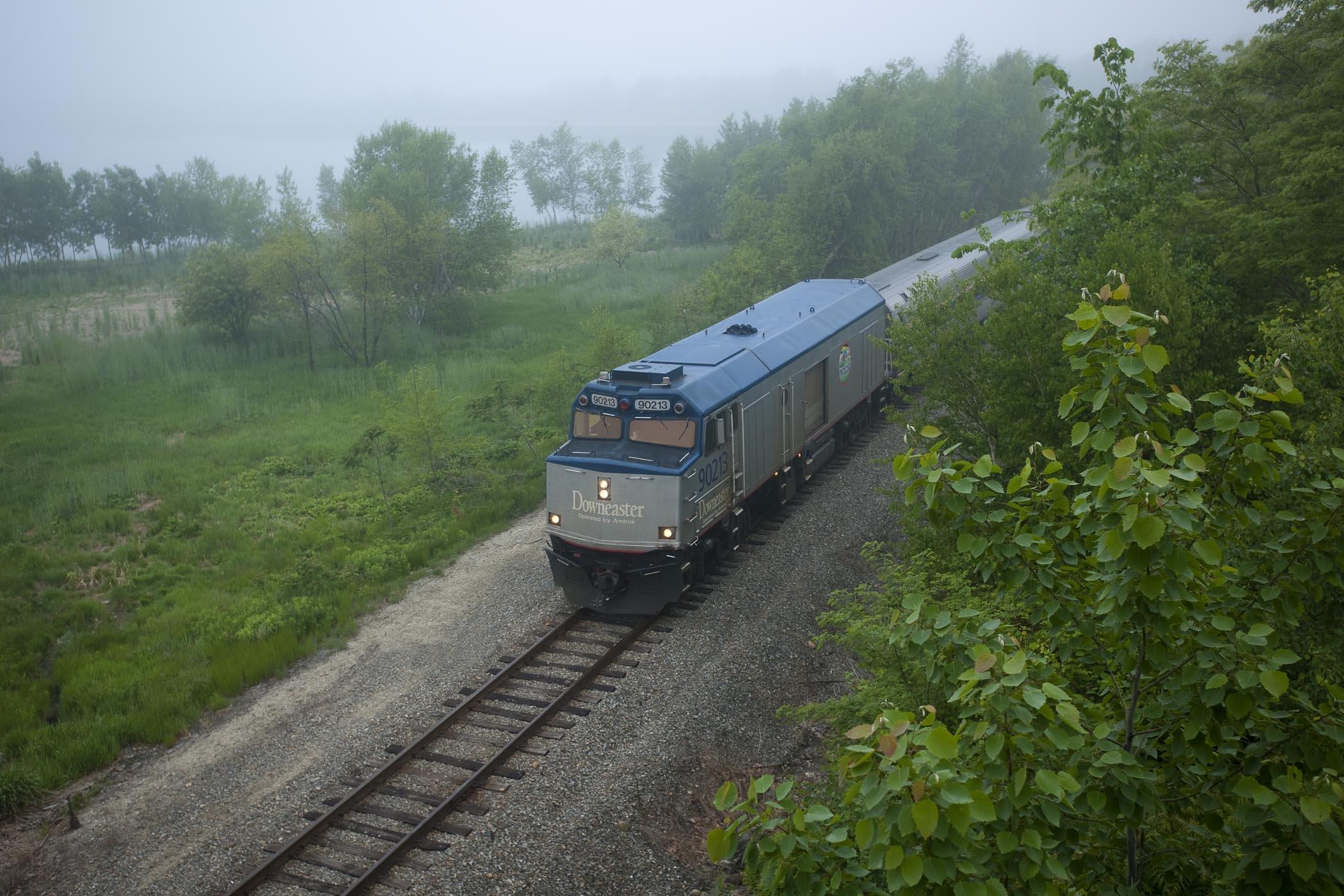 Amtrak Downeaster, Portland Maine