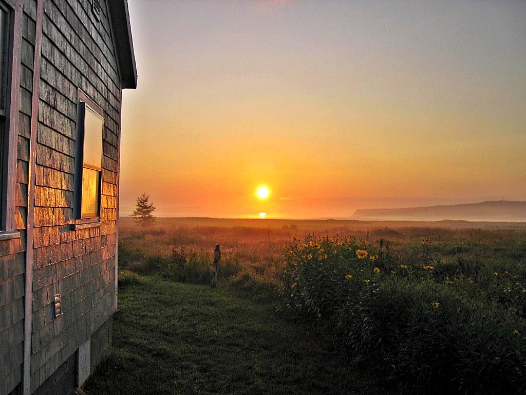Be the First to See the Sunrise over Campobello Island, Canada!