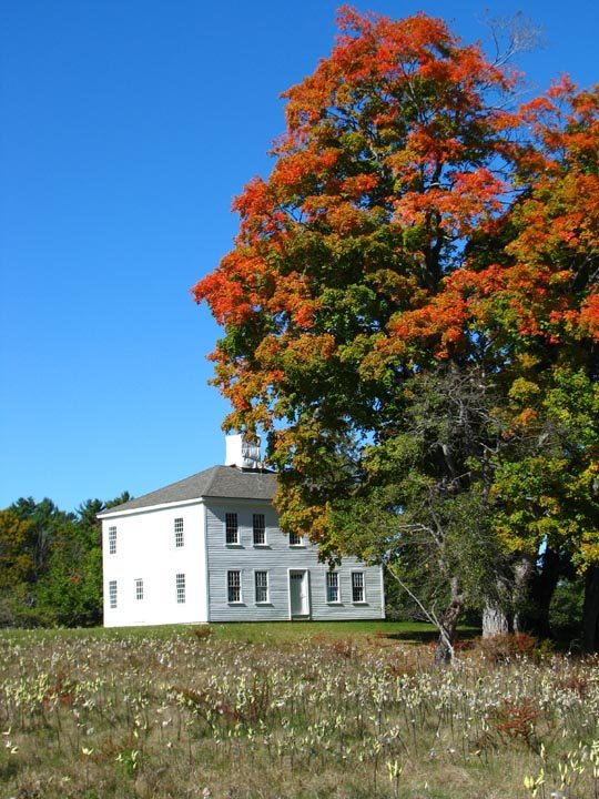 The Tubbs - Reed House dates back to the 1800s and overlooks the Kennebec River.