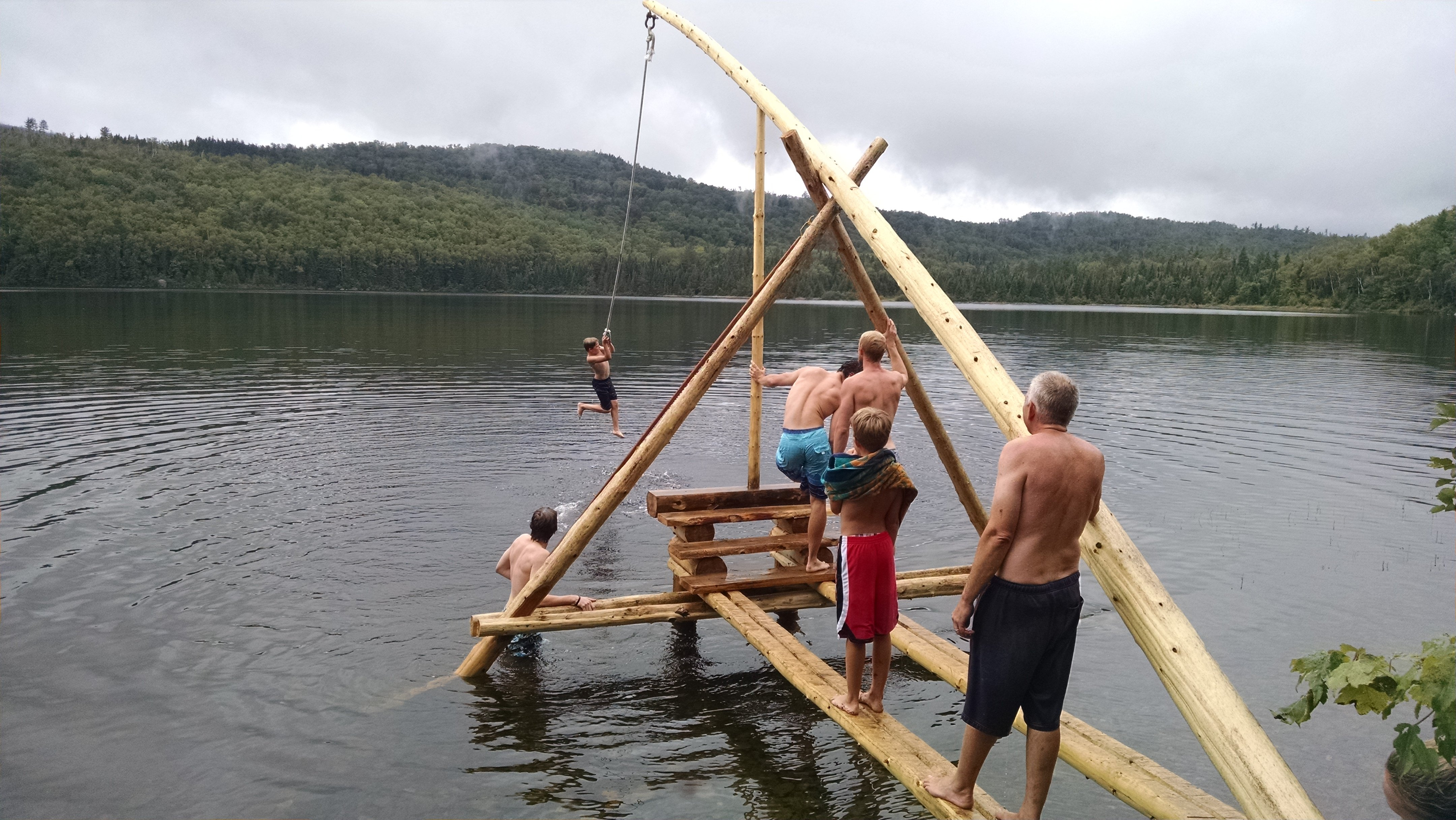 """Check our new """"Tarzan"""" swing off of your bucket list this summer!"""