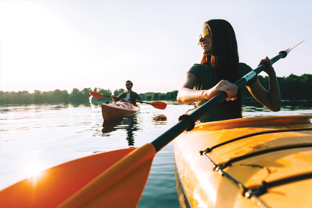 Get on the water in Maine's Lakes and Mountains.