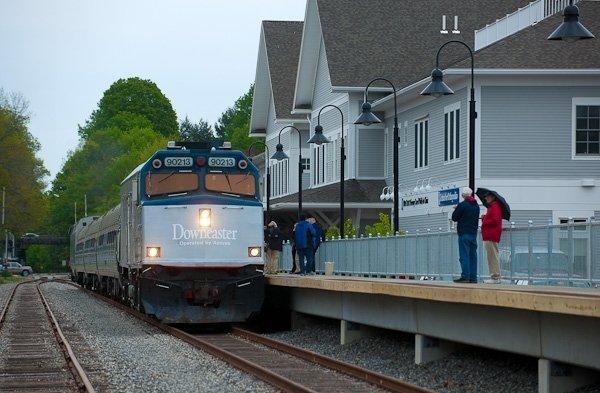 Brunswick Station, Brunswick Maine