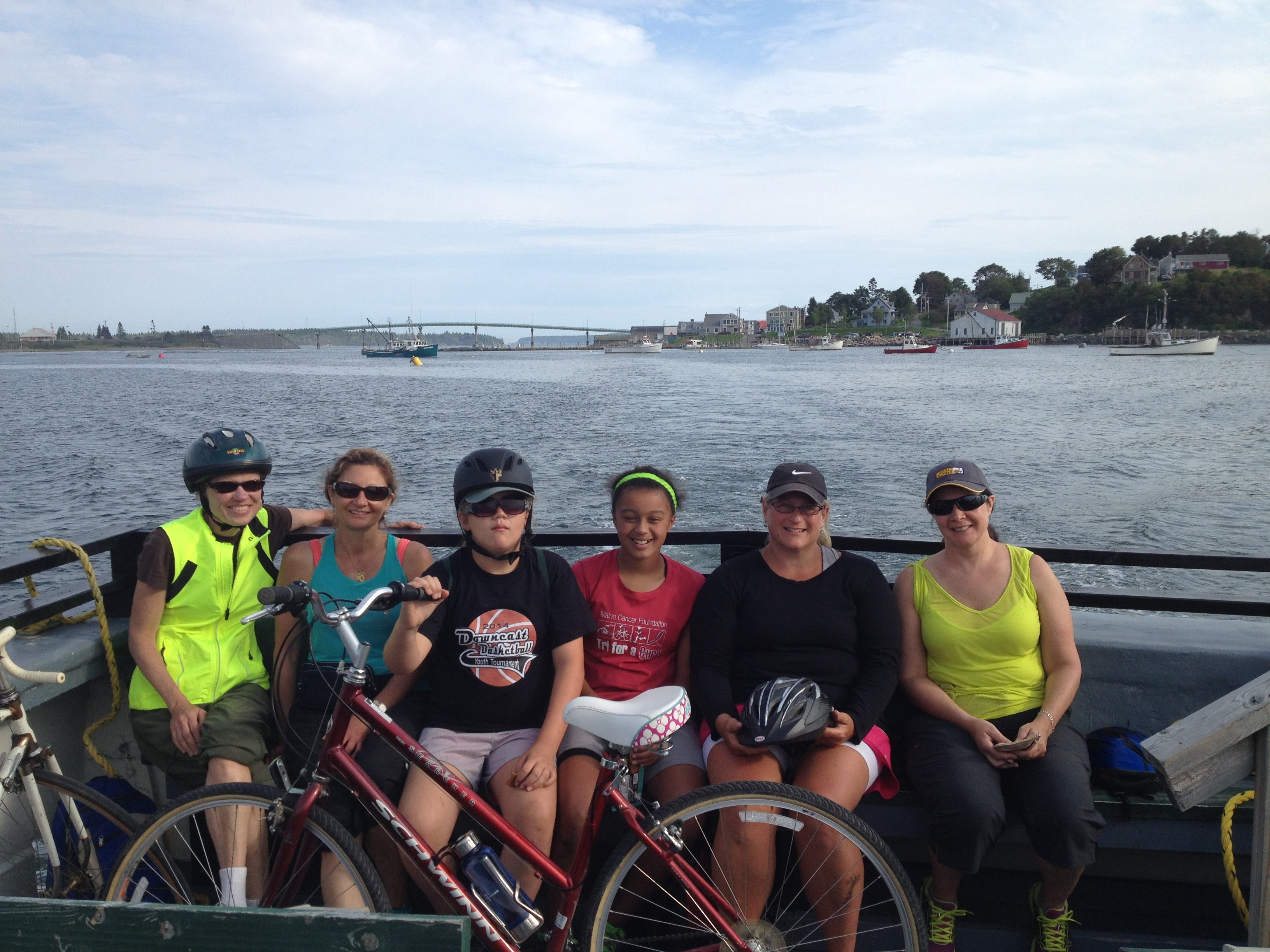 Two countries (US & Canada), 3 ferries and 2 island bike tour!