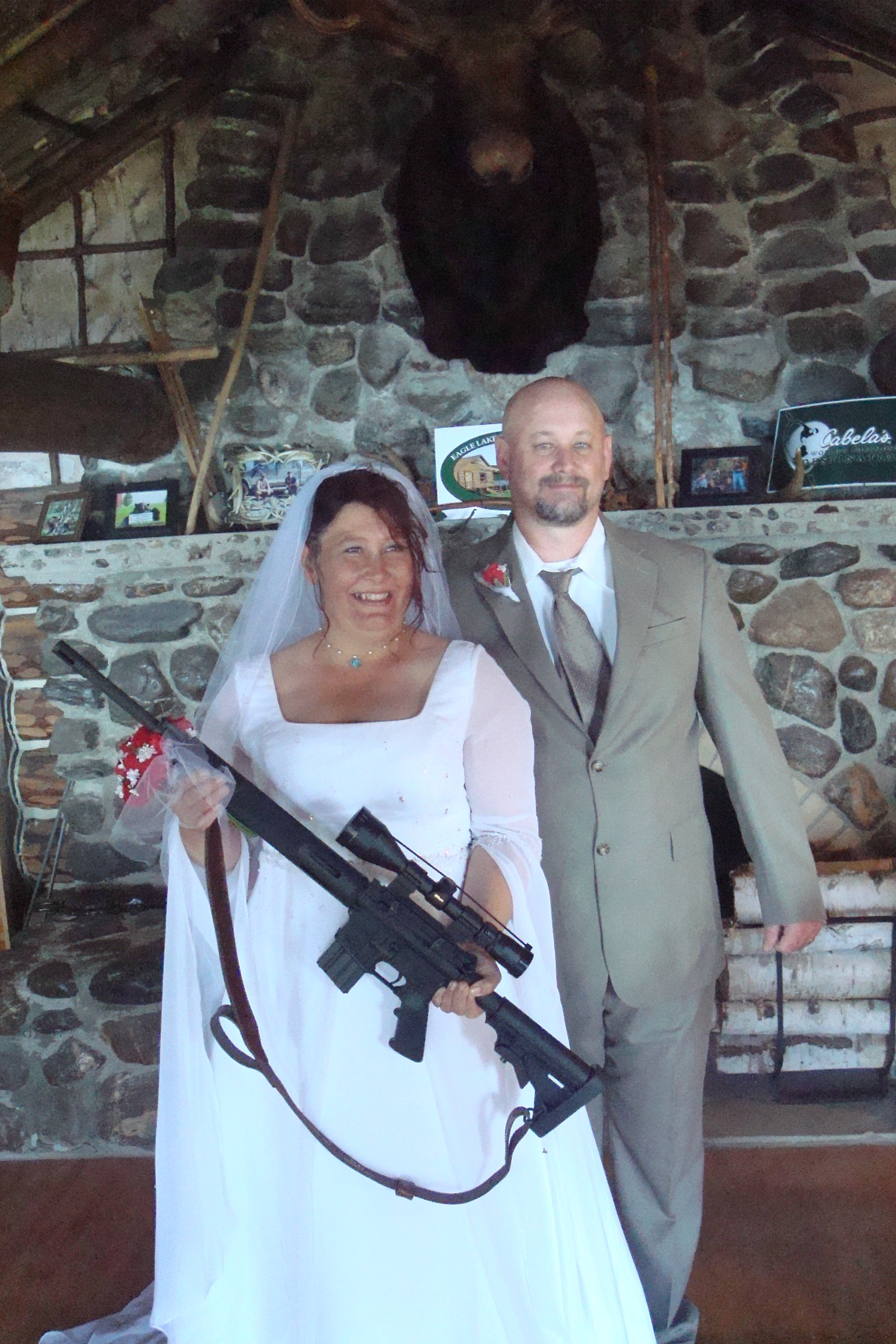 Firearm friendly weddings.