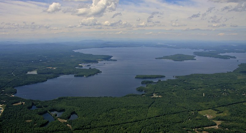 South side of the Sebago Lage, Standish.
