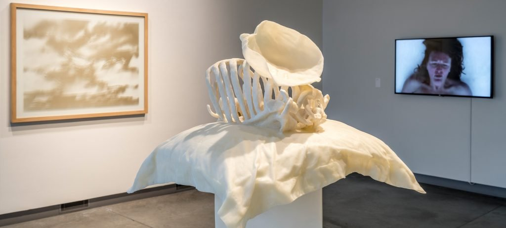 Exhibition: 'Anguish: the Grave Misgivings of Remembrance'; Art: Janine Antoni's, 'To Long', Polyurethane resin, 67 x 26 x 21 inches, Edition of 3 + 1 AP, 2015