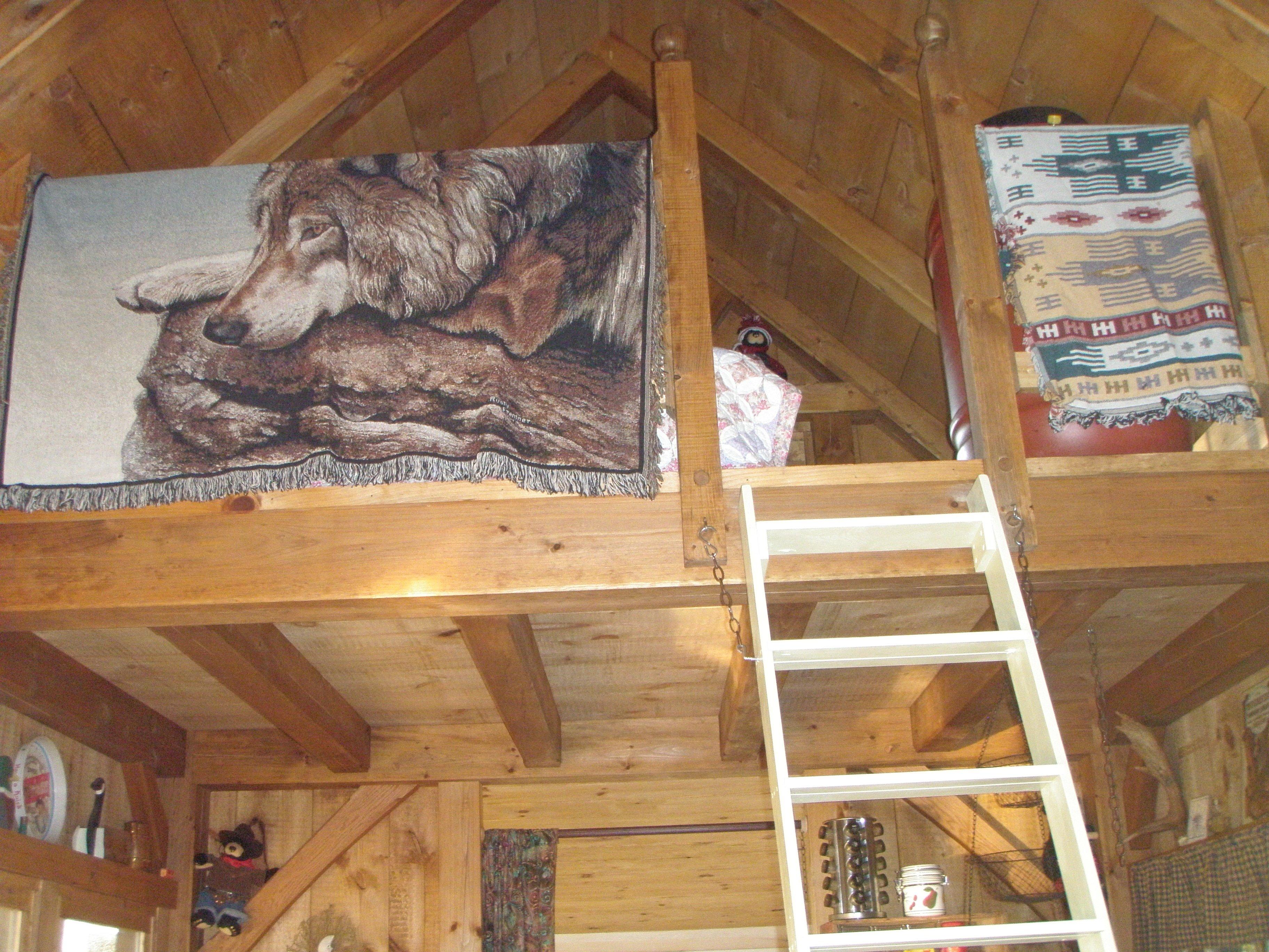 Loft access, kids love it!
